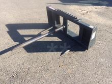 VIRNIG BSV48 Bale forks and gri