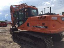 2012 Doosan DX180 LC Track exca