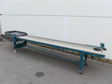 Demco inspection conveyor with
