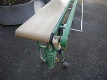 Vandenberg conveyorbelt with ad