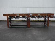 Compas jump sorting machine for