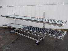 Alubo Roller conveyor trolleys