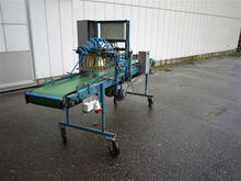Visser seedingmachine with tray