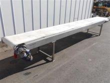 Stainless steel conveyor 515cm