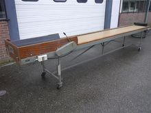 Langco inspection conveyor with