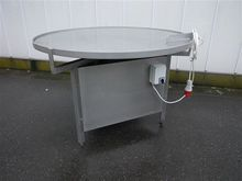 Stainless steel turning table Ø