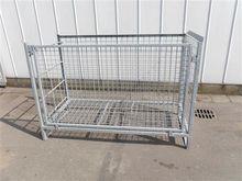 Galvanized crates - boxes for l