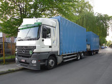 Mercedes-Benz 2541 + Kran + Eds