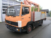 Mercedes-Benz LK 709 D Hubsteig