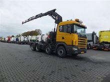 Scania R144.530 8X4 MANUAL FULL