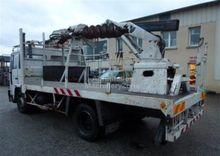 camion tarière pose poteaux