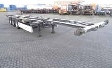 Krone TOP: 40 FT HC Chassis, lo