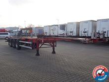 Groenewegen Containerchassis 2x