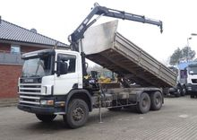 Scania 114-340 6x4 / HIAB KRAN