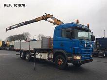 Used Scania 144.460