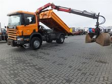 Scania P114.340 4X4 TIPPER WITH