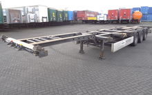 Krone 40 FT HC Chassis, hinten