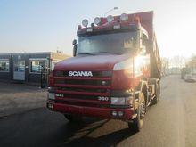 Used Scania 124 6x4