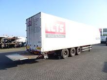 Burg Box, volledig chassis, SAF