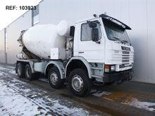 Scania P113.360 8X4 MANUAL FULL