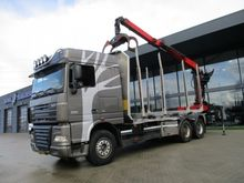 DAF FAT XF 105 Spacecab 6X4 Eps