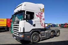Used Scania 124 6X2