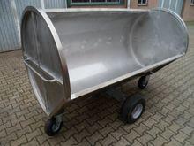Horsmans RVS mestwagen