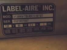 Used 2 Label-Aire 31