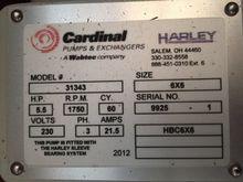 Cardinal 31343 6x6 HBC6X6 Pump,