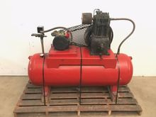 70 Gallon 5HP Horizantal Air Co