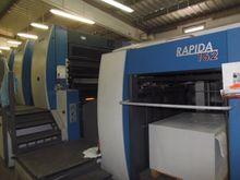 2005 KBA-RAPIDA Rapida 162a-5+L
