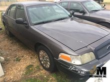 2003 FORD CROWN VIC VEHICLES