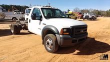 2006 FORD F550XL SD CAB & CHASS