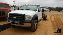 2007 FORD F550XL SD CAB & CHASS