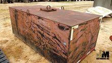 APPROX 400 GAL STEEL WATER TANK