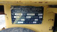 GROVE SM2232E BOOM & SCISSOR LI