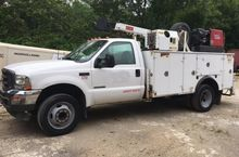 FORD F550 UTILITY- SERVICE 2002