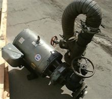 PUMP WITH 30 H.P. MOTOR 2375