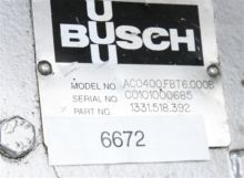 Used Busch AC0400 Va