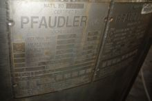 Used PFAUDLER Glass-