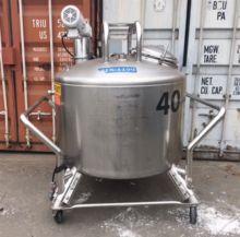 Used 350 gallon S.S.