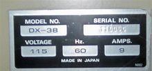 American Scientific DX-38 Oven