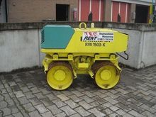 2007 Rammax Digging roller RW 1