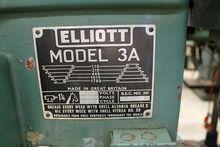 Elliott 3A pedestal drill press