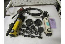 Lot of 2 Enerpac Hand Pumps wit
