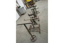 Lot of assorted pipe stands