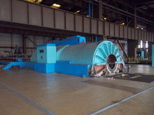 Steam turbine tandem compound 5