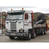 Truck Scania R143EK 420, Crane
