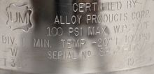 Alloy Products Corp. T316 10 Li