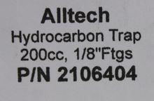 Alltech Hydrocarbon Trap; Fitti